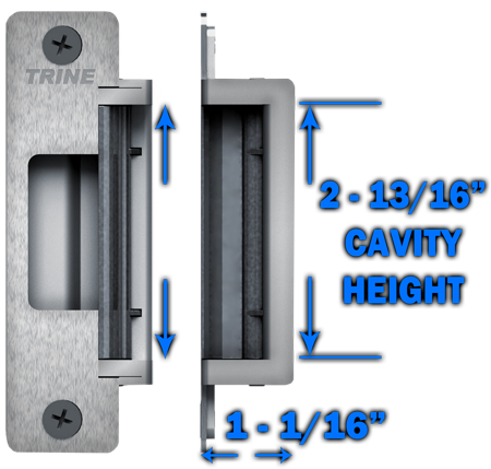 4200 Cavity height
